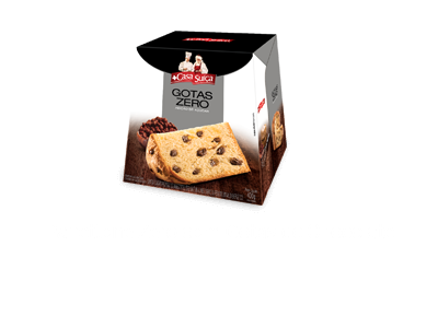 Panettone Gotas de Chocolate Integral